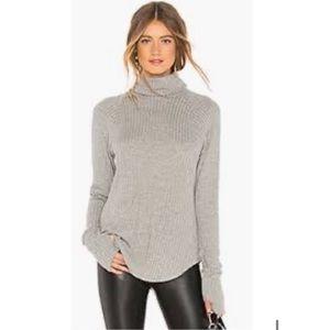 White+Warren Ribbed Turtleneck Tunic Sweater NWOT
